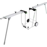 Festool Kapex stovas - vežimėlis su prailgintojais